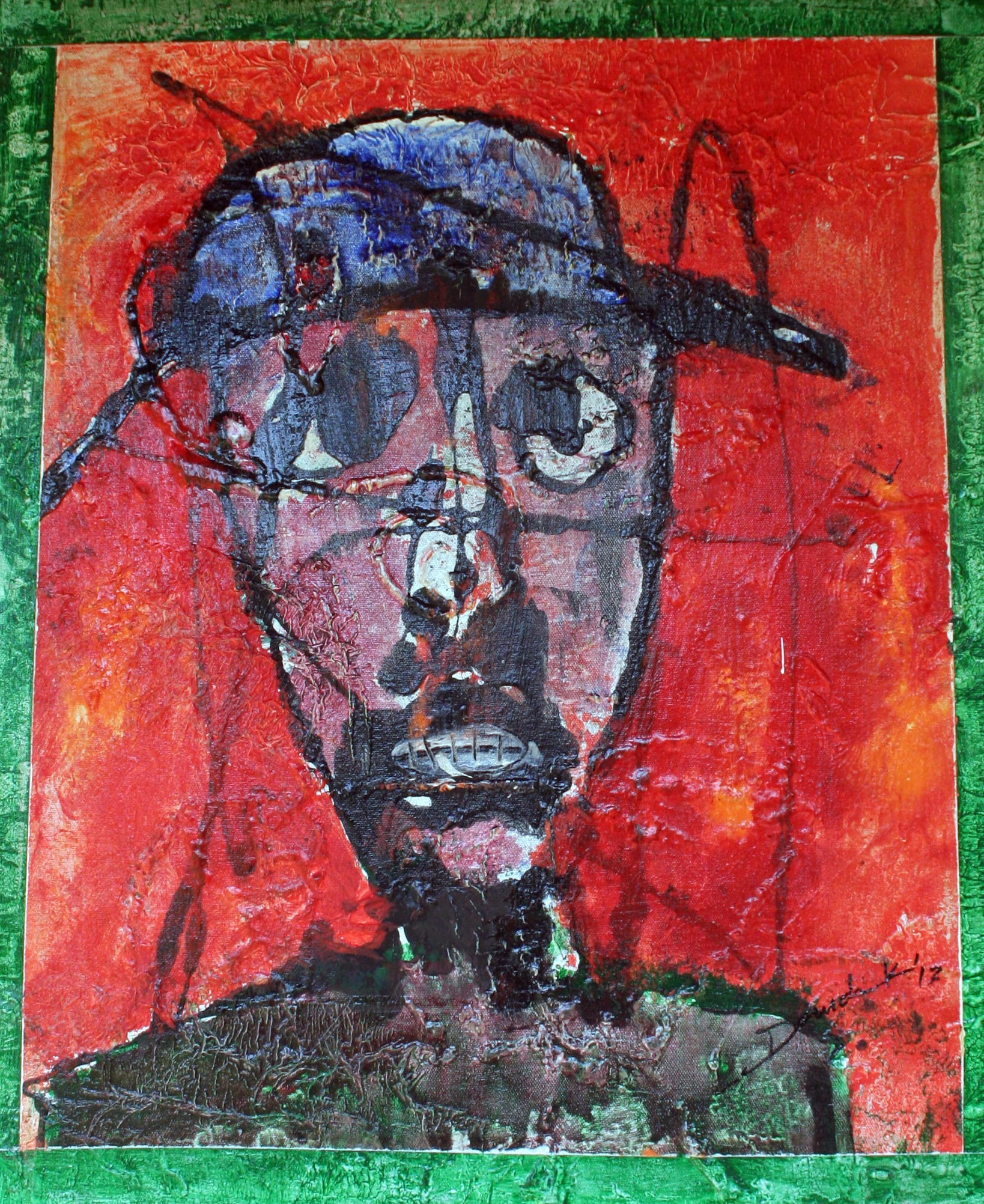 Man with the Hat by Daudi Karungi